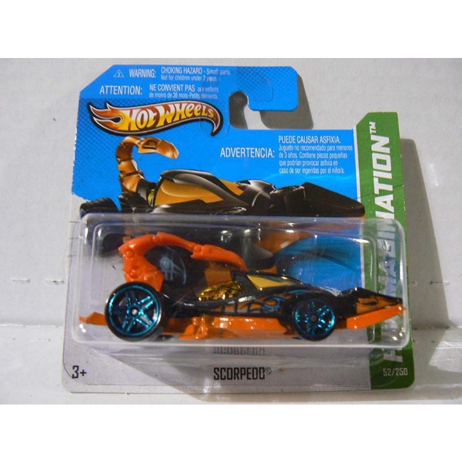 ホットウィールHot Wheels HW Imagination Scorpedo 黒 with オレンジ Tail on Short Card