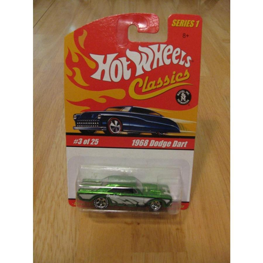 ホットウィールHot Wheels Classics Series 1 - 1968 Dodge Dart #3 of 25