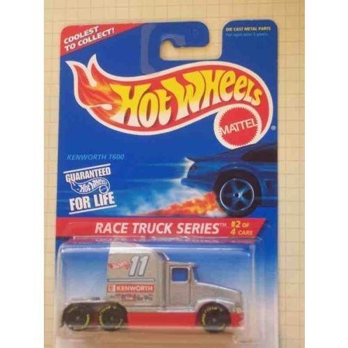 ホットウィールRace Truck Series #2 Kenworth T600 1996 #381 Collectible Collector Car Mattel Hot Wheels 1:64 Scale