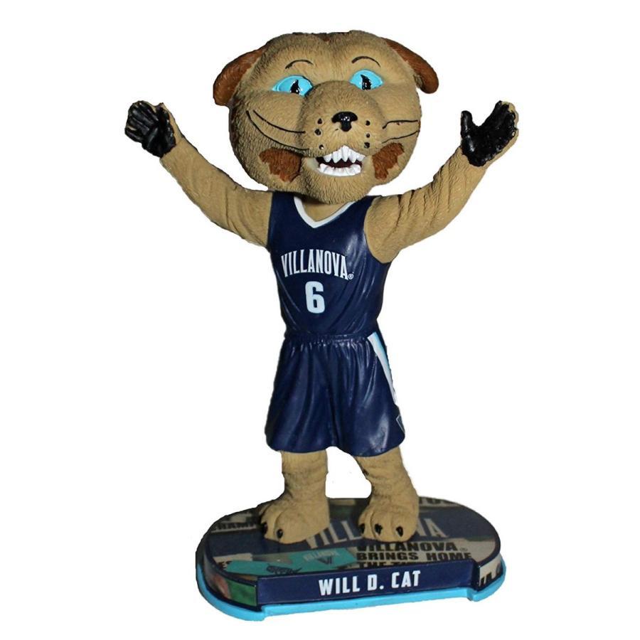 ボブルヘッドForever Collectibles Villanova Wildcats Mascot Villanova Wildcats Headline Special Edition Bobblehead