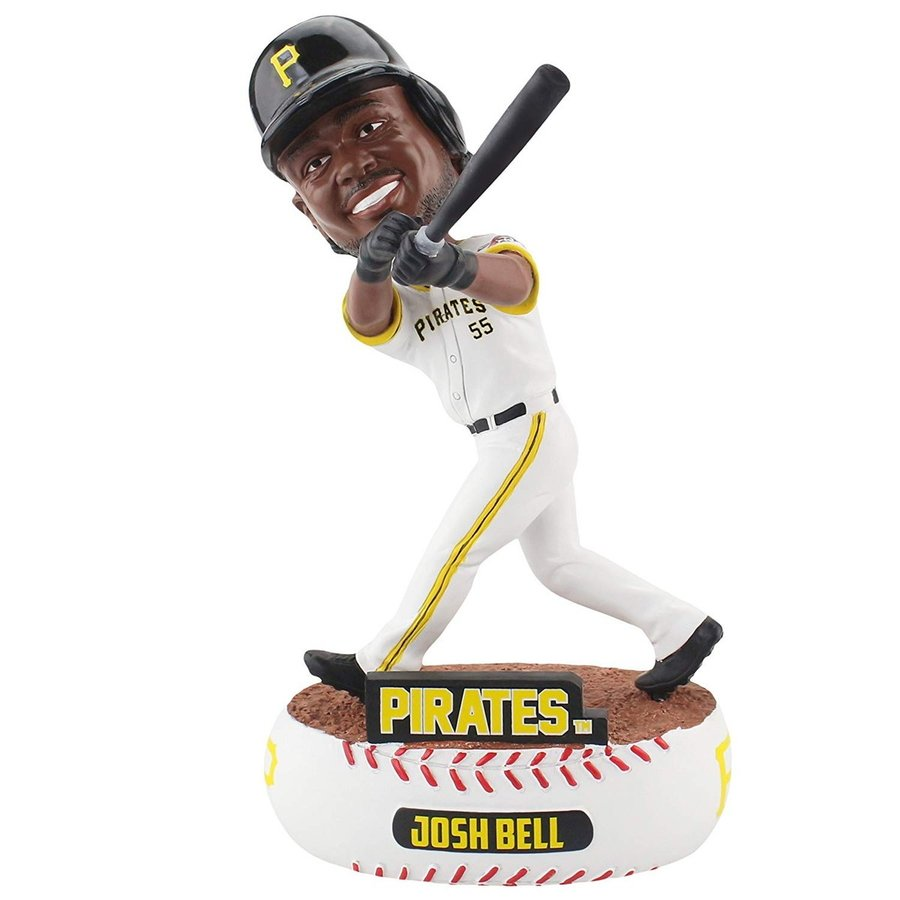 ボブルヘッドForever Collectibles Josh Bell Pittsburgh Pirates Baller Special Edition Bobblehead MLB
