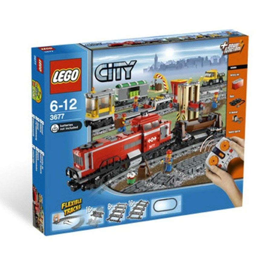 レゴLEGO Train Set #3677 赤 Cargo Train