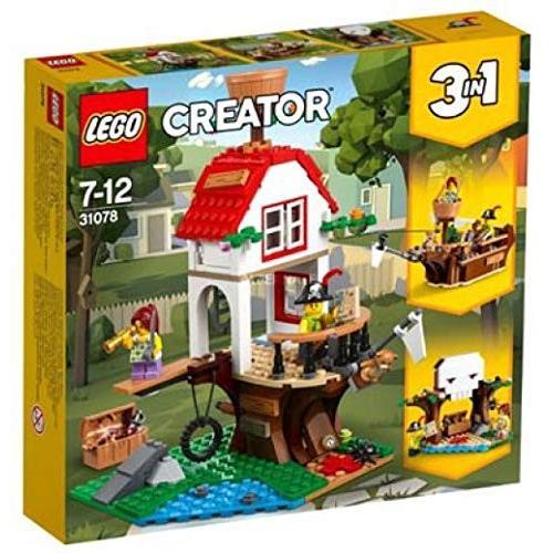 レゴLego Creator Treehouse Treasure 31078 Building Set (260 Piece)