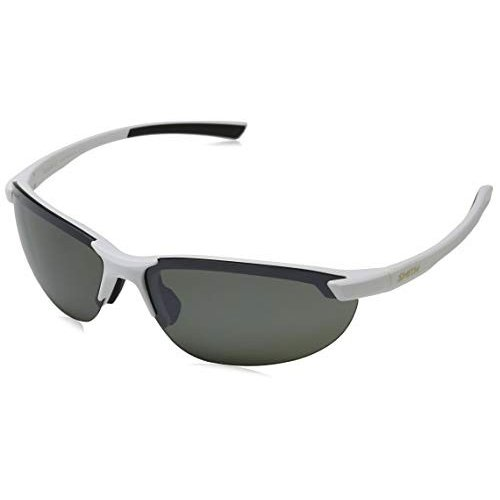 スミスSmith Optics Parallel 2 Carbonic Polarized Sunglasses, Matte 白い/Carbonic Polarized Platinum/Ignitor