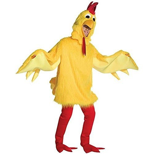 コスプレ衣装Fuzzy Chicken Costume Costume - One Size - Chest Size 48-52