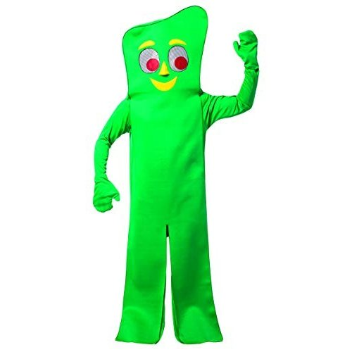コスプレ衣装Rasta Imposta Gumby Costume, 緑, One Size