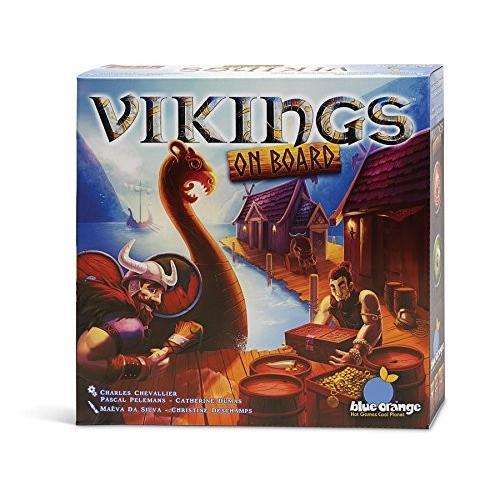 ボードゲーム青 オレンジ Vikings On Board Game