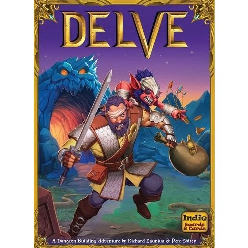 ボードゲームIndie Boards & Cards Delve Board Games