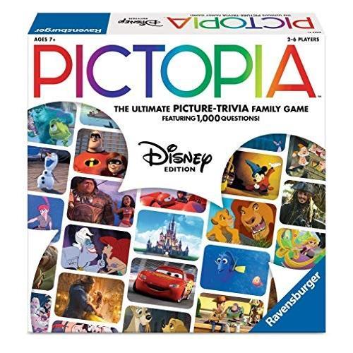 ボードゲームRavensburger Pictopia: DISNEY Edition Family Trivia Board Game For Kids & Adults Age 7 & Up - Perfect Gift for A