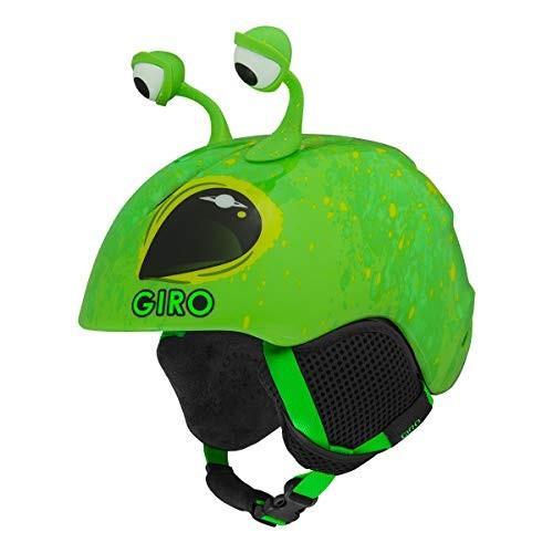 スノーボードGiro Launch Plus Youth Snow Helmet - Bright 緑 Alien - Size XS (48.5-52cm)