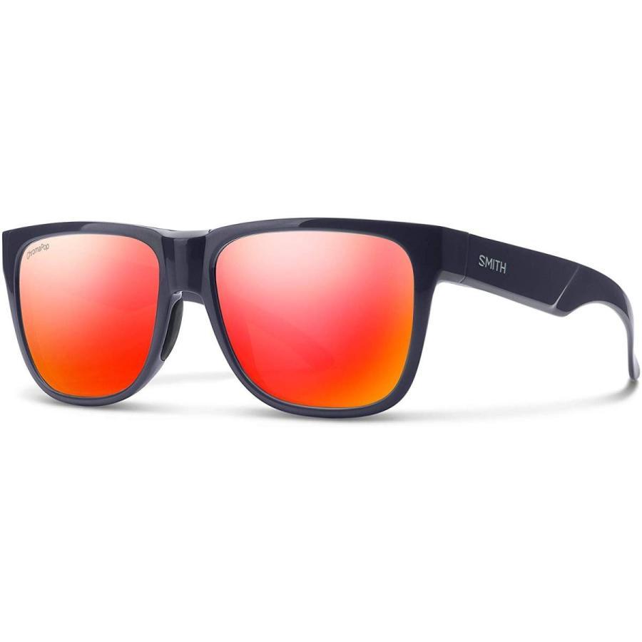 スミスLowdown 2 ChromaPop Polarized Sunglasses, Deep Ink / ChromaPop 赤 Mirror, Smith Optics Lowdown 2 ChromaPop Sunglasses