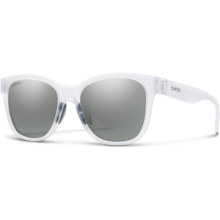 スミスSmith Caper Chromapop Sunglasses, Matte Crystal, Chromapop Platinum