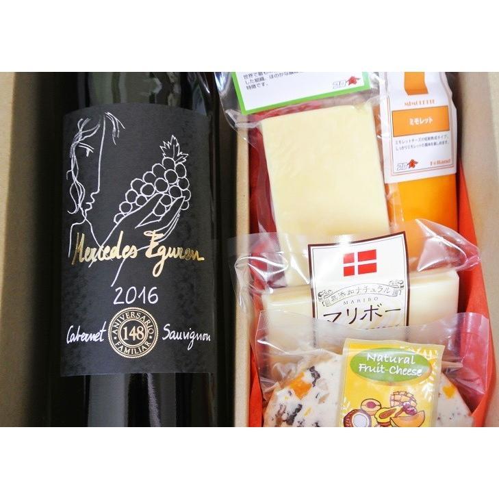 ワインギフト スペイン  赤ワイン&チーズとピコス5種セット|planquor|03
