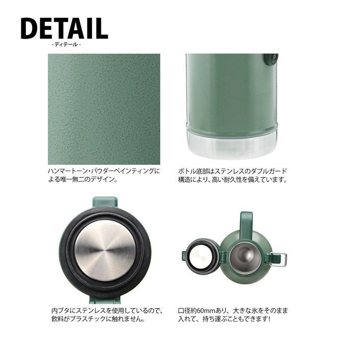 スタンレー クラシック 真空グロウラー 1.9L 【グリーン/ロイヤルブルー】 日本正規品 STANLEY 新ロゴ 水筒|plantz|05