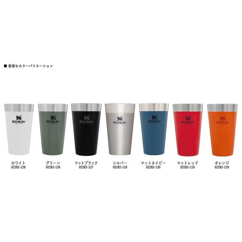 スタンレー スタッキング真空パイント 0.47L 日本正規品 STANLEY 新ロゴ ギフト タンブラー コップ 保温保冷 真空二重構造|plantz|07