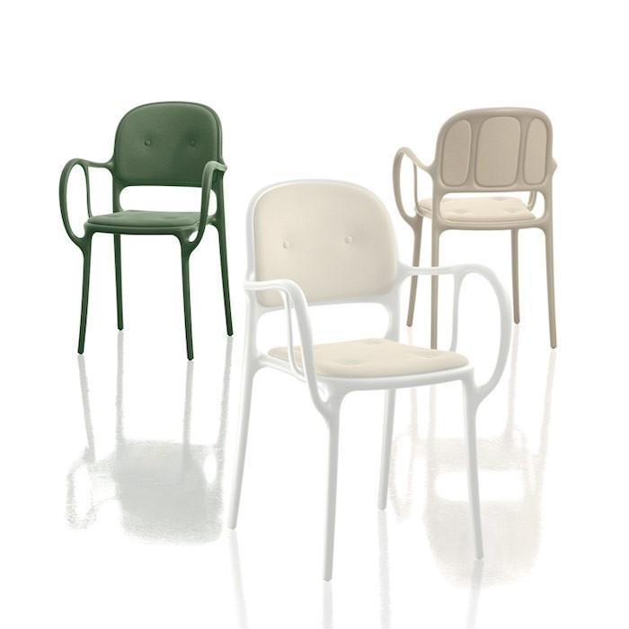 MAGIS マジス Milà with cushion ミラ(クッション付)レッド/ダークグリーン/イエロー/ベージュ/ホワイト/ブラック