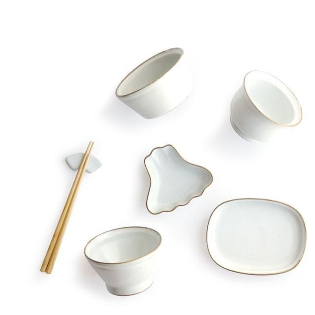 数量限定 アマブロ お食い初め セット GOLD RIM amabro OKUIZOME オクイゾメ 和食器 お祝い 祝い膳 食器 磁器 子供用 ホワイト 白|play-d-play|02
