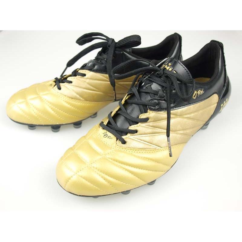 サッカー スパイク アスレタ O-Rei Futebol T002 ゴールド/ブラック 10004-5870