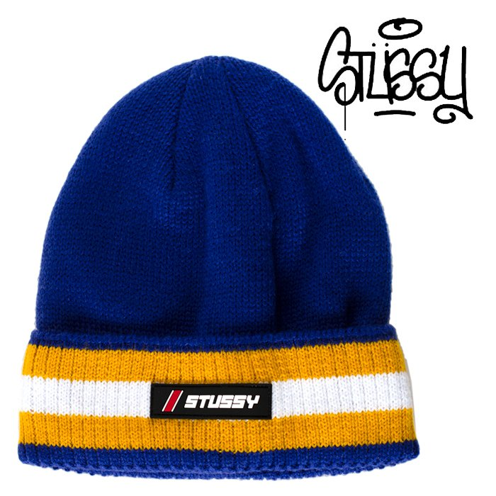STUSSY ニット帽 ステューシー ニットキャップ ビーニー ニットワッチ ストゥーシー スチューシー 正規品 アメカジ メンズ レディース playerz