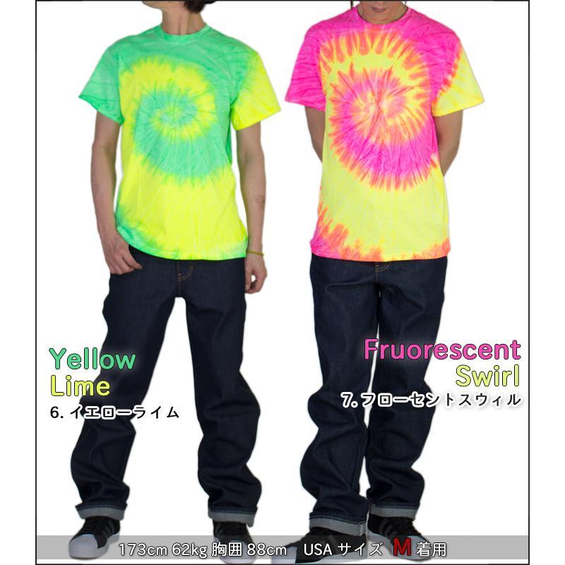COLORTONE カラートーン タイダイ 半袖Tシャツ レディース メンズ Tシャツ タイダイ柄 タイダイ染め Tシャツ USAモデル 大きいサイズ|playerz|13