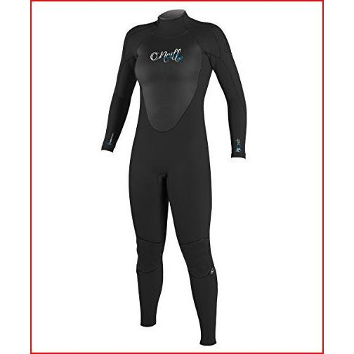 O'Neill Wetsuits Women's Epic 4/3 mm Full Suit (Black, 2)【並行輸入品】
