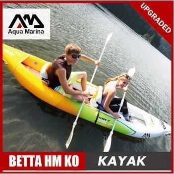 アクアマリーナインフレータブルボート 釣り スポーツ カヤック カヌーpvcディンギーいかだアルミパドルポンプシートドロップステッチ積層