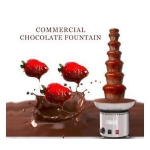 海外製 チョコレートディスペンサー チョコレートマシーン 7層 チョコレートファウンテン ステンレス110V