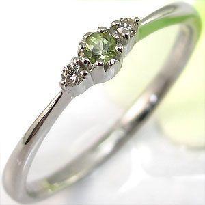 【ファッション通販】 k18ゴールド ペリドット リング シンプル 指輪, デグナー通販(レザージャケット) a6da3454