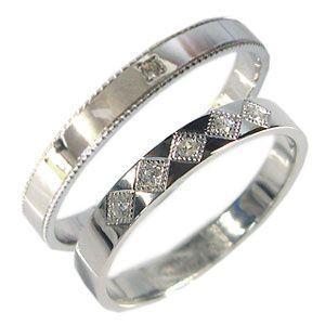 格安販売中 K18ゴールド ペアリング ダイヤモンド 結婚指輪 安い マリッジリング, Marine Days 26de5031