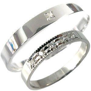 日本製 K18ゴールド ペアリング ダイヤモンド 結婚指輪 安い マリッジリング, 【内祝い】 e6bc9d19