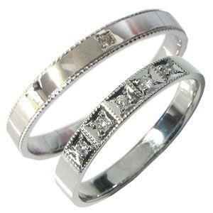 【人気ショップが最安値挑戦!】 K18ゴールド ペアリング ダイヤモンド 結婚指輪 安い マリッジリング, 【当店限定販売】 69266aec