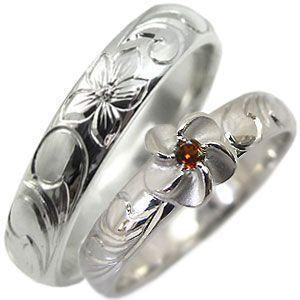 経典ブランド 結婚指輪 k18 ガーネット リング ハワイアンジュエリー マリッジリング, MC ヴィオ 758b8e0d