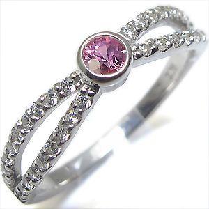 新発売の 9月誕生石 ピンクサファイア リング 一粒 K10 指輪, G-CLUB dc91ad02