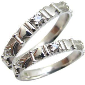 正規激安 ペアリング ダイヤモンド リング 18金 ダイヤリング マリッジリング 結婚指輪, ラブリーナッツファクトリー 5db96f24