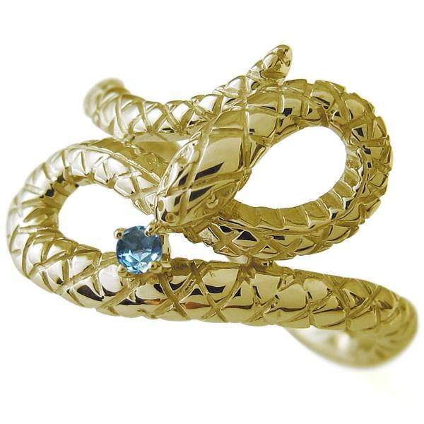新しい到着 スネーク メンズリング ヘビ ヘビ 蛇 メンズリング 蛇 指輪 ブルートパーズ, 神戸オバタ堂:1fbfcef1 --- airmodconsu.dominiotemporario.com
