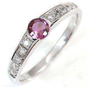 注目のブランド ピンクトルマリン リング ハーフエタニティー リング 指輪 10月誕生石 一粒 10金, hABa 490ccb63