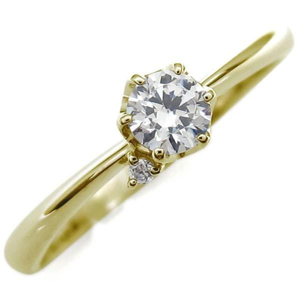 驚きの価格 VVSクラス 鑑定書付き ダイヤモンド エンゲージリング K18 指輪, セレクトショップ フィールドワン 246ae853
