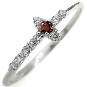 お気に入りの プラチナ ガーネット ミディリング クロス 指輪 ホワイトデー ポイント消化, リアライザー 3772f136