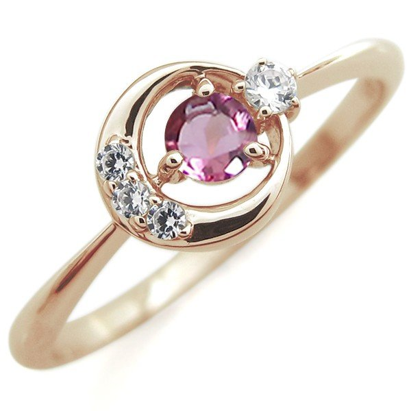 日本最大のブランド 誕生石 リング 星 月 モチーフ スターリング 指輪 18金 一粒, イーグル舶来堂 4370cf8a