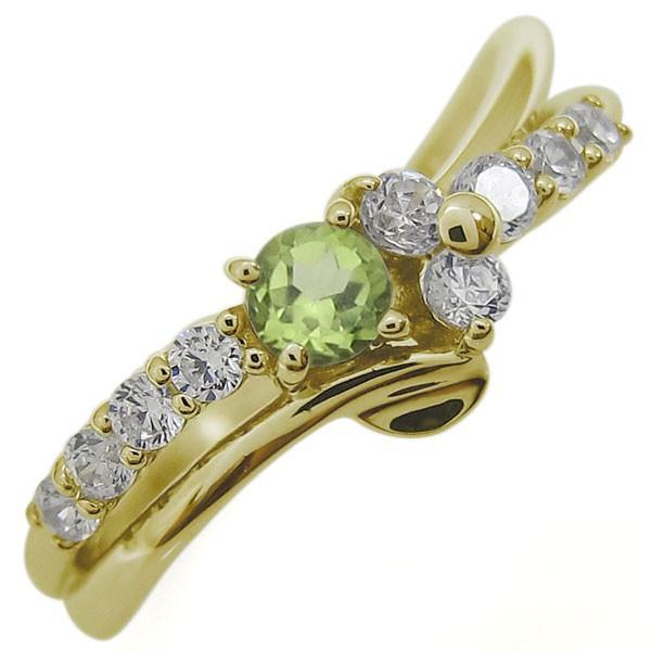 独創的 ペリドットリング 結婚10周年 結婚10周年 Vラインリング 指輪 指輪 10金, 鴬沢町:8114ec9a --- airmodconsu.dominiotemporario.com