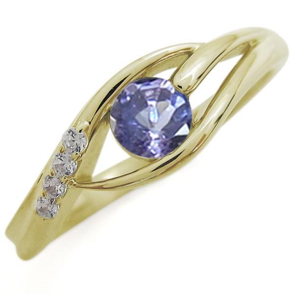 最適な材料 タンザナイト 指輪 タンザナイト シンプル レディースリング レディースリング 指輪 K18リング, ニタグン:364de15d --- airmodconsu.dominiotemporario.com