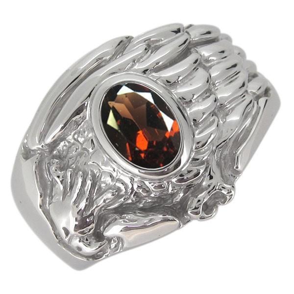 雑誌で紹介された メンズ 指輪 イーグル 鷲 ホーク 鷹 選べる誕生石 プラチナ リング, ワイルドフィットネットショップ e30e14ee