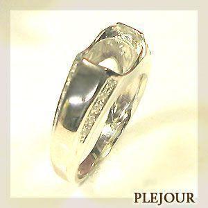 リフォーム用 リング シルバー925製 空枠 指輪|plejour