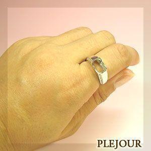 リフォーム用 リング シルバー925製 空枠 指輪|plejour|03
