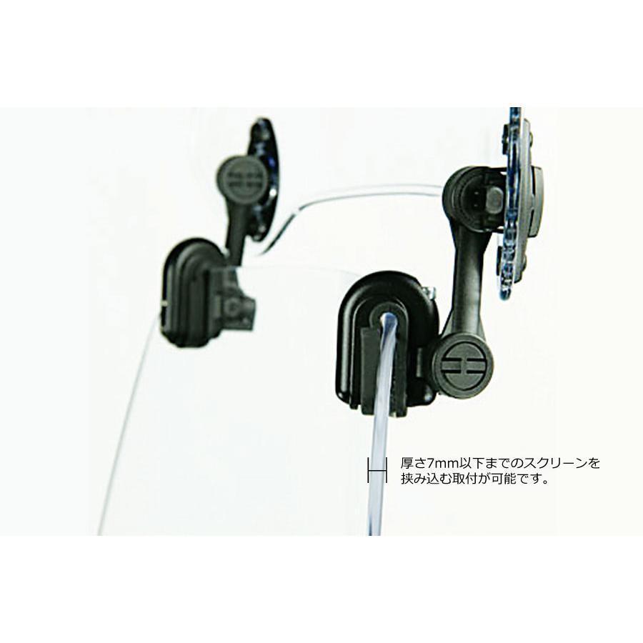 MRA (エムアールエー) X-Creen(エクスクリーン) スポーツ スモーク 汎用(ユニバーサル) XCAS-S|plotonlinestore|06