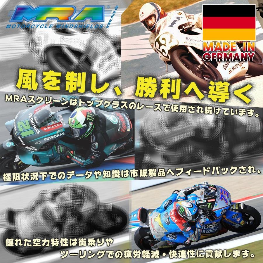 MRA (エムアールエー) X-Creen(エクスクリーン) スポーツ スモーク 汎用(ユニバーサル) XCAS-S|plotonlinestore|09