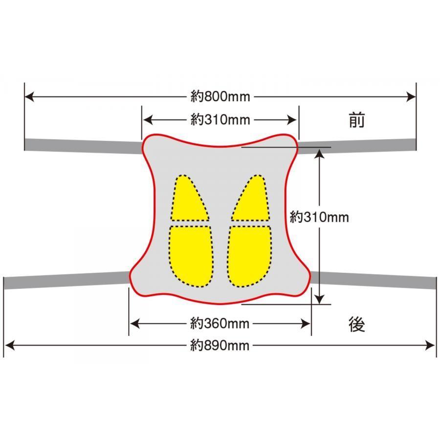 EFFEX (エフェックス) ゲルザブ R バイクシート 巻きつけタイプ GEL-ZAB EHZ3136 オートバイ 二輪用 EHZ3136 plotonlinestore 08