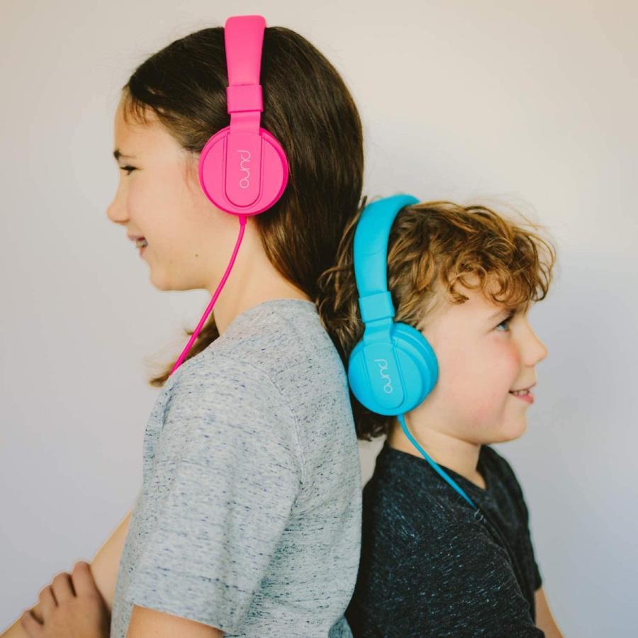 公式  PuroBasic 85dB音量制限機能搭載ヘッドホン 子供用 有線タイプ Puro Sound Labs|plu|12
