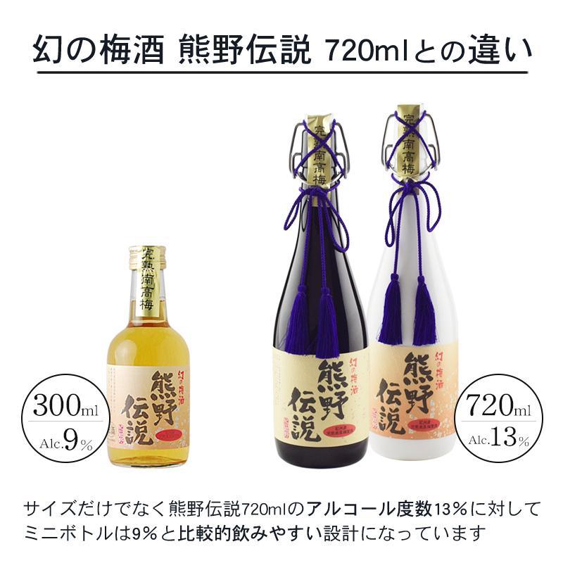 梅酒 ギフト 熊野伝説 幻の梅酒 ミニボトル ポイント消化 お酒|plumsyokuhin|05