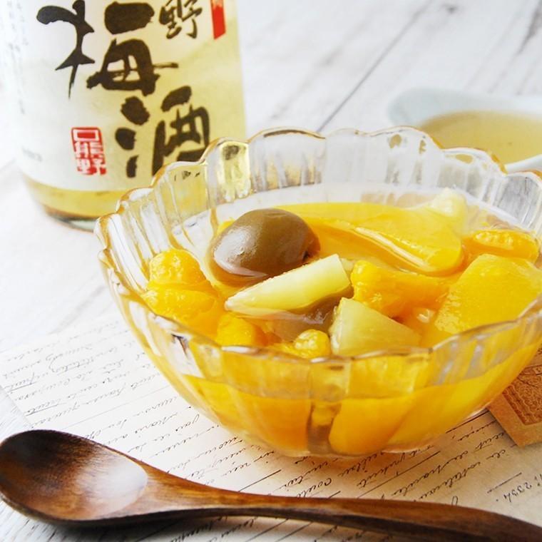 梅の甘露煮 甘露梅 こはく3本 梅 梅の実 お砂糖のみで甘く炊いた梅 まとめ買い|plumsyokuhin|07